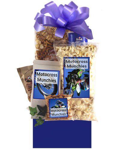 Motocross Madness Gift Basket