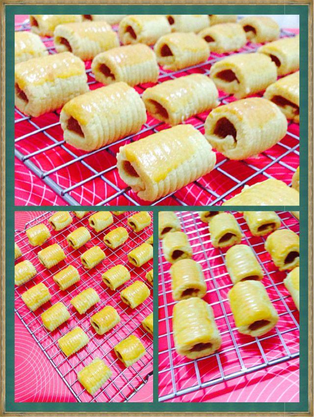 Pineapple Roll Cookies