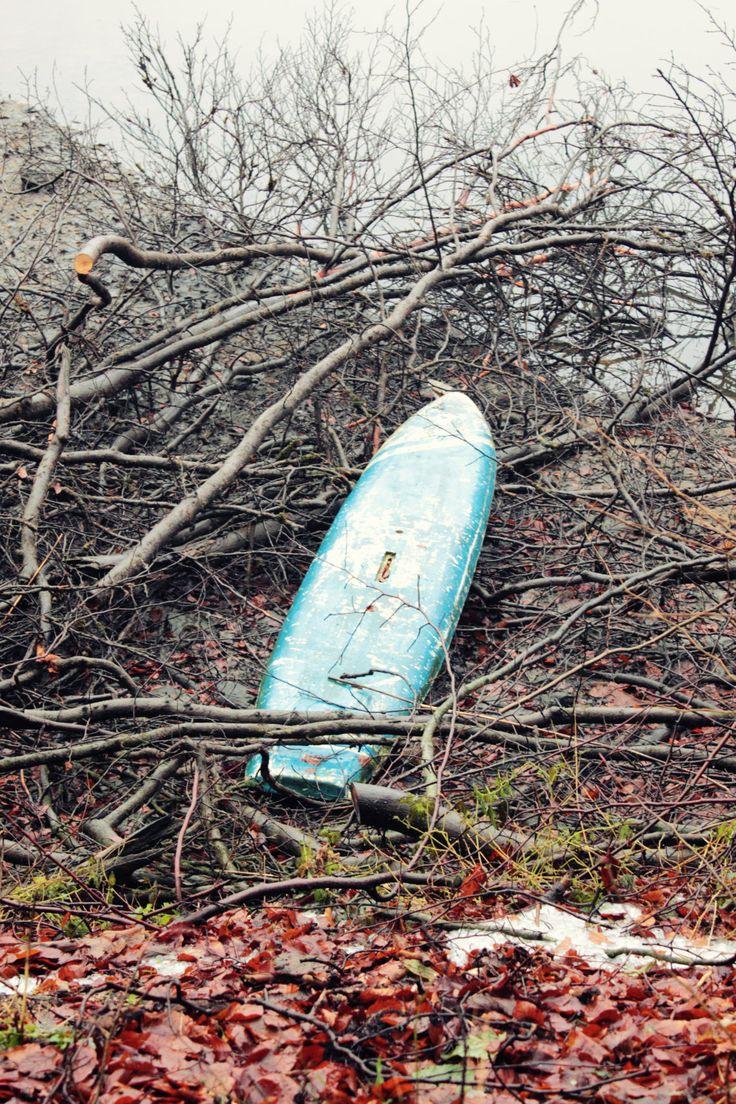 abandoned board