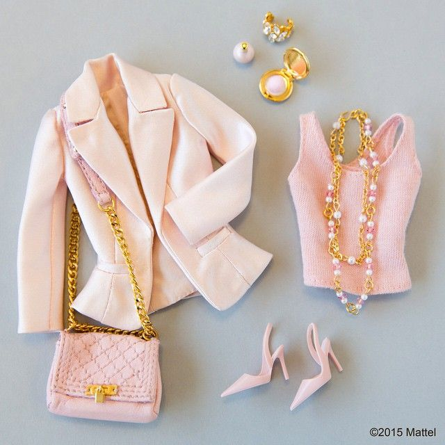 Tickled pink! You can never wear enough of your favorite color.  #barbie #barbiestyle