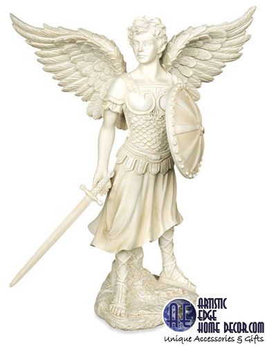 Archangel 'Gabriel' Garden Statue Version. All pricing etc will be shown shortly in November on our eCommerce Site.
