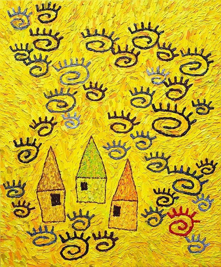 """좋아요 89개, 댓글 6개 - Instagram의 Youyeong.Seo(@blibla_art)님: """". 나 어릴적에. When I Was Young. 50.0×60.6cm Acrylic on canvas . . . #acryliconcanvas #painting #texture…"""""""