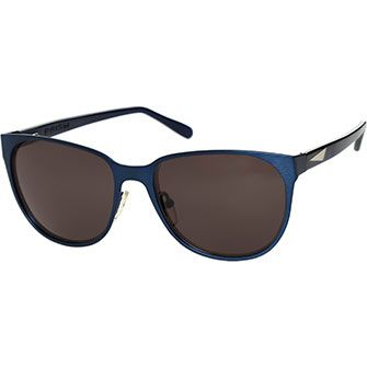 Prism Blue Metal Preppy Sunglasses