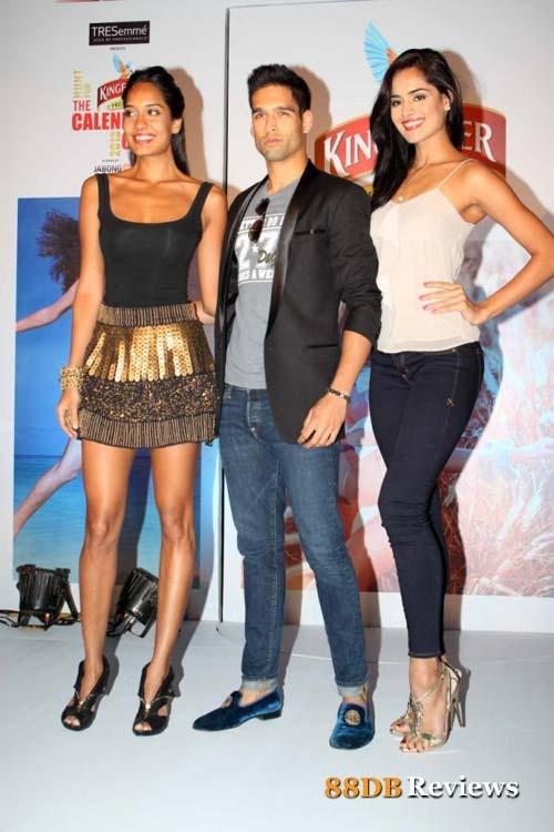 Lisa Haydon, Siddharth Mallya, Nathalia Kaur