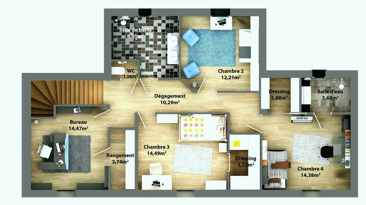 Awesome Logiciel Architecture 3d Gratuit En Ligne (avec images)   Plan maison, Plan maison 3d ...