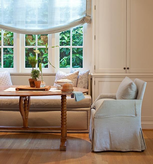soft Roman Shades for my living room Solis Betancourt, breakfast room