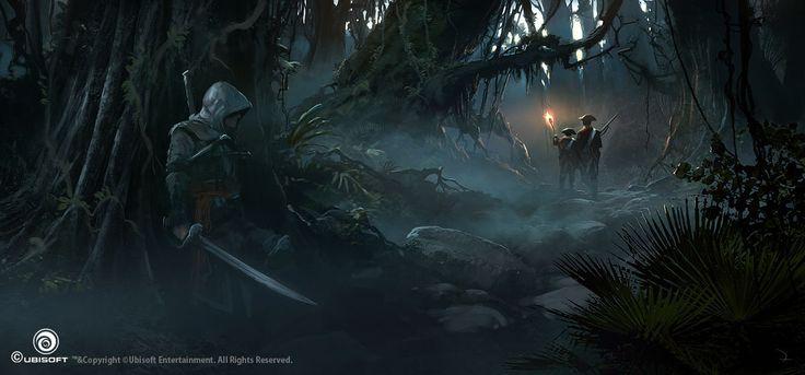 Assassin's Creed IV Black Flag Concept Art, Martin Deschambault on ArtStation at http://www.artstation.com/artwork/assassin-s-creed-iv-black-flag-concept-art-7084f441-afa2-42d1-aefa-656470afad7d