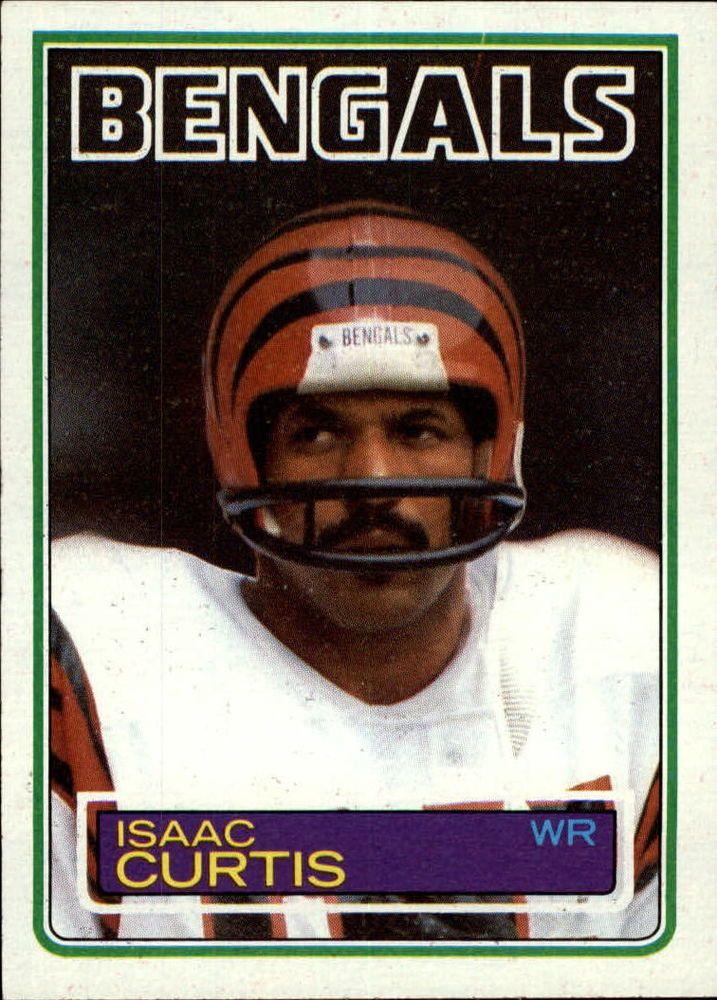 1983 (FB) Topps 236 Isaac Curtis Football cards