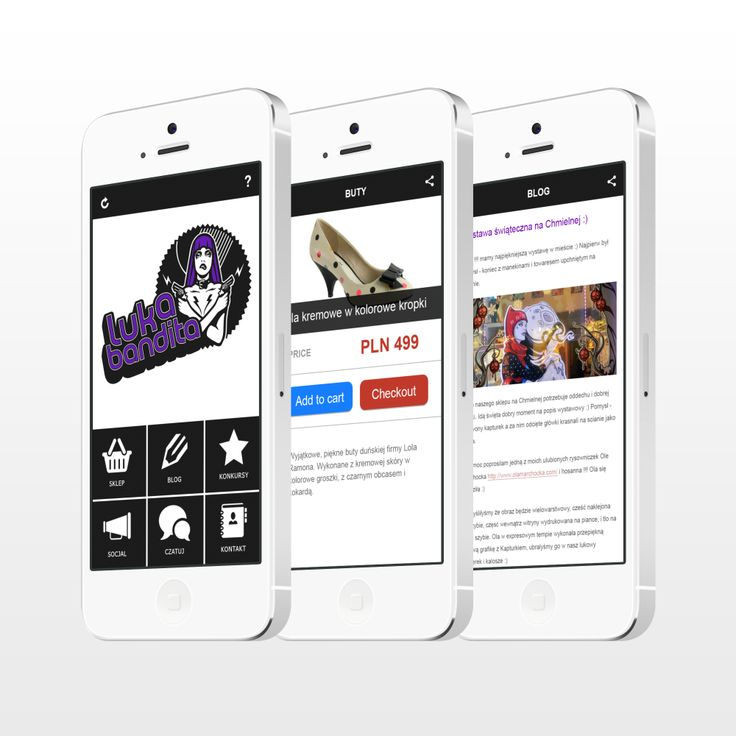 The project of the e-commerce app. Luka Bandita is a great shop for hot chicks. Visit their page: http://lukabandita.com/ :)