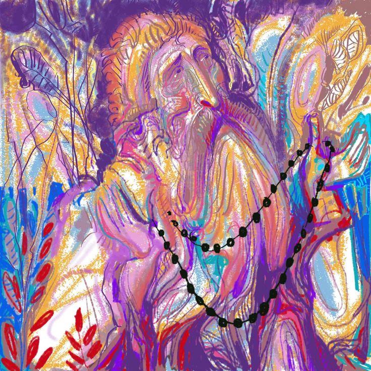 PRAYER Digital Painting, 2015