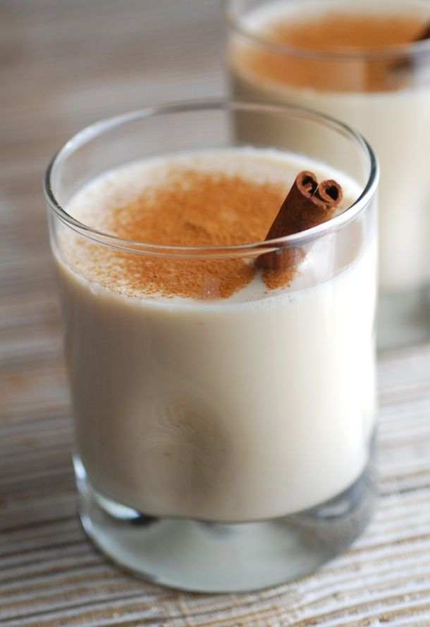 The best Puerto Rican Coquito recipe -- try this Caribbean alternative to egg nog at your holiday celebration, made with coconut, rum, and cinnamon. | Always Order Dessert