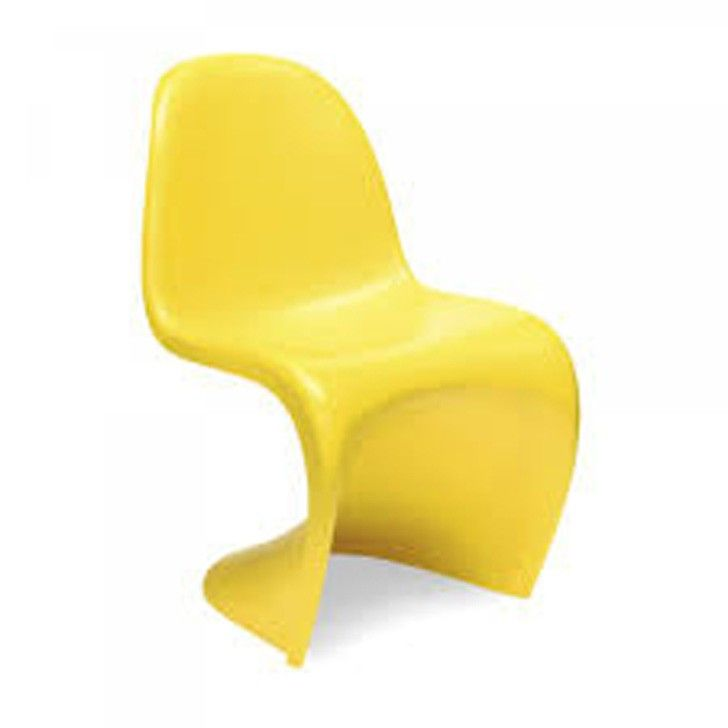 FIVEMORE | Panton Inspired Kids Chair in Yellow - Furniture - 5rooms.com