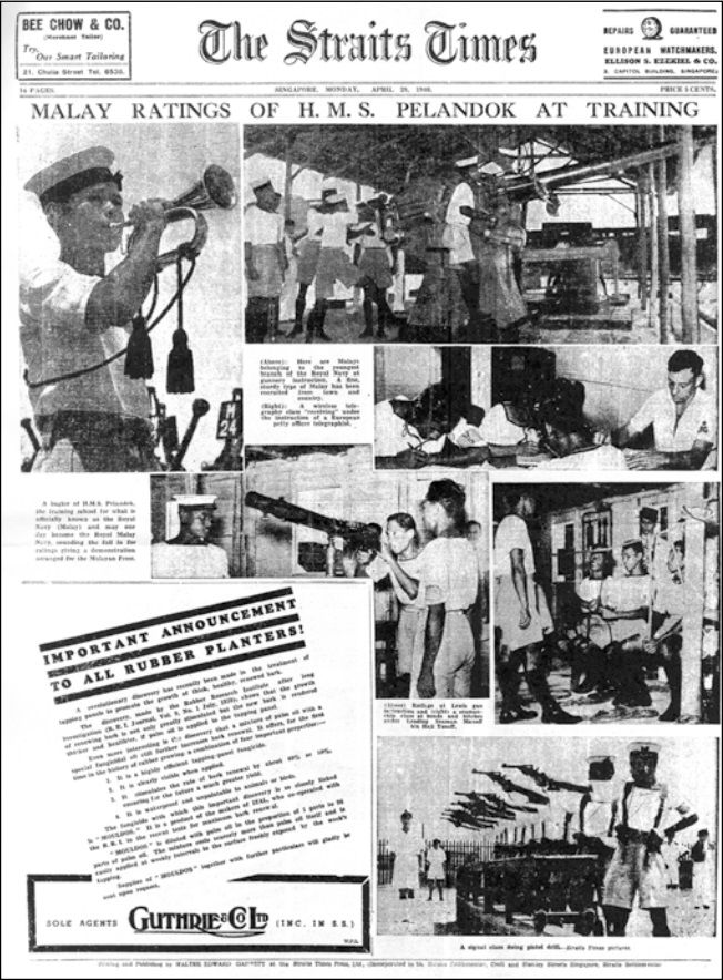 The news about Royal Malayan Navy