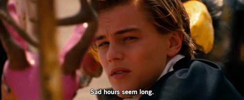 1. Leonardo DiCaprio | ...Leo was everything—the ultimate '90s boyfriend: He had swagger, flippable hair deep, soul-piercing eyes... (GIF of Romeo & Juliet)