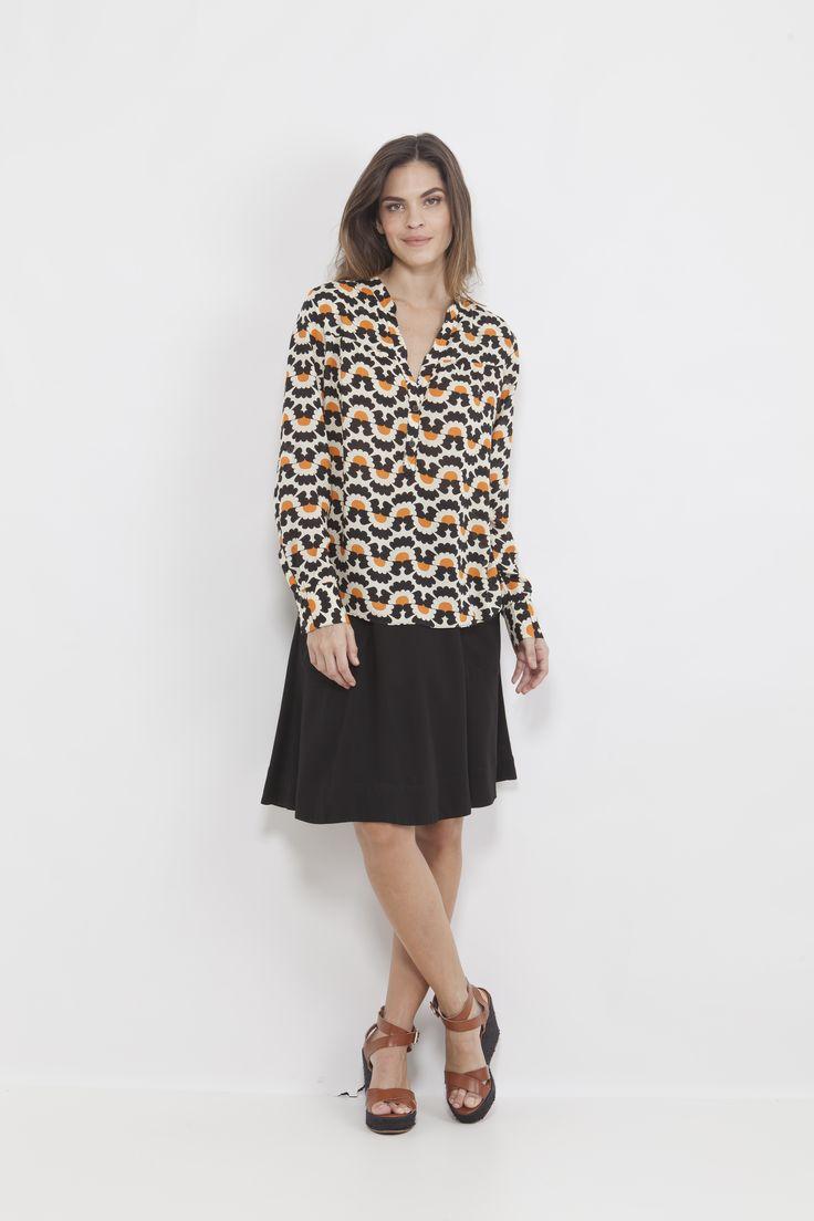 soft fabric, bold pattern.