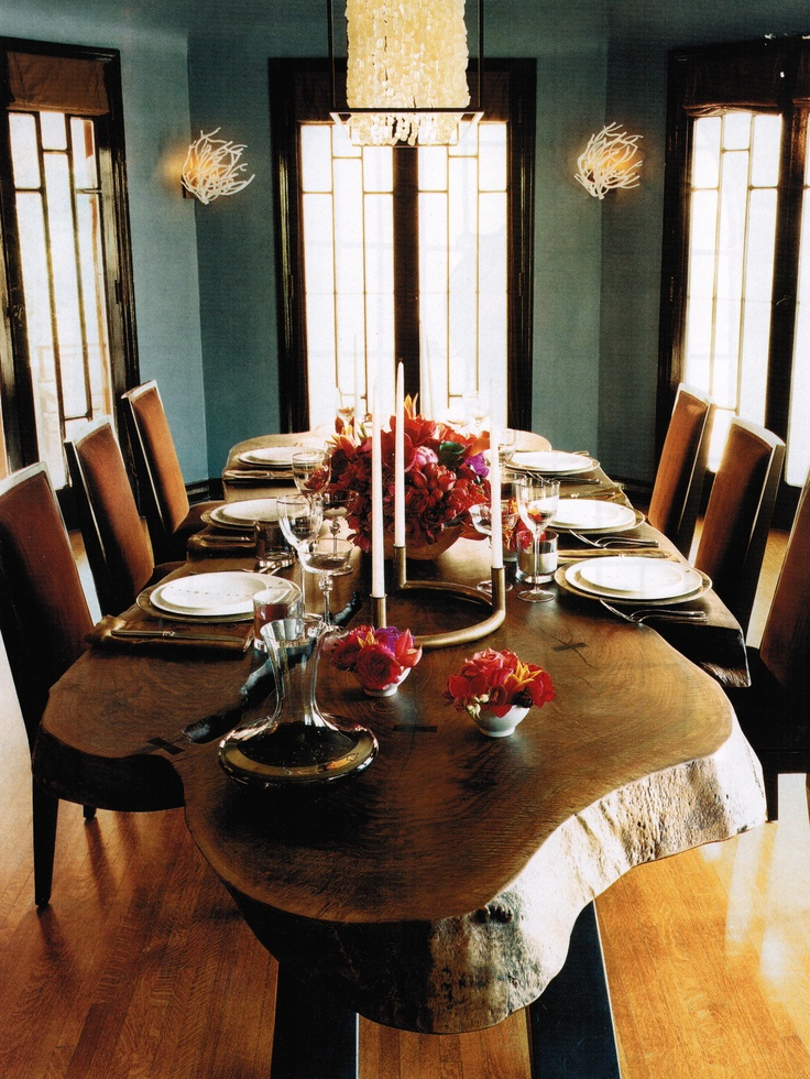 17 Best images about Live Edge Dining Room Table on Pinterest : Stables, Live edge table and ...
