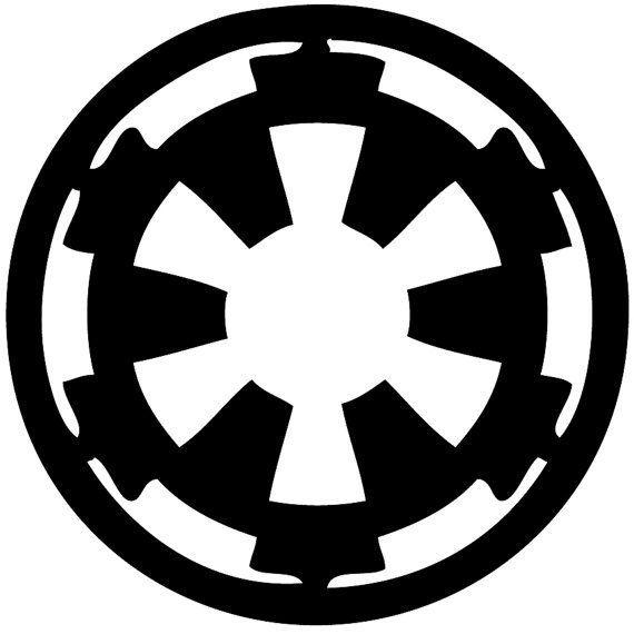 galactic empire symbol | Star wars stencil, Star wars ...