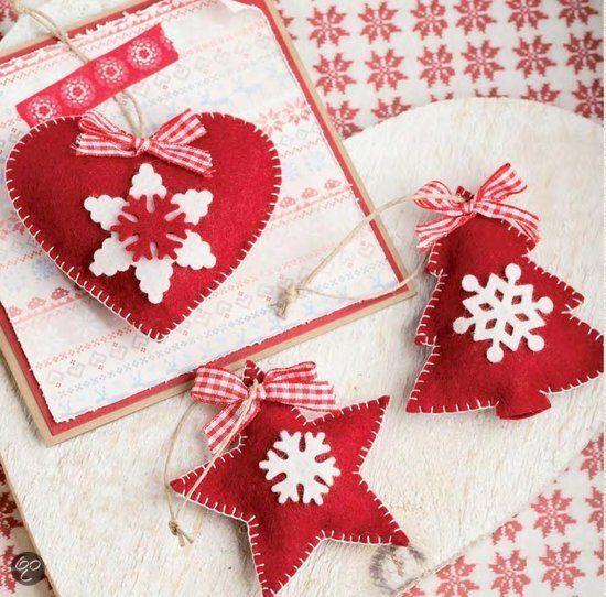 #DIY Kerstboom versieringen #Christmas - I love vilt, Marianne Perlot | 9789043915885 | Boeken