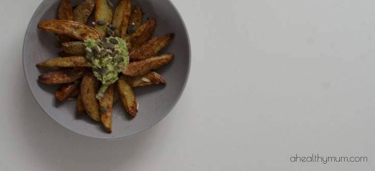 Stacey Clare – A Healthy Mum | Healthy Wedges | Chips and Dip