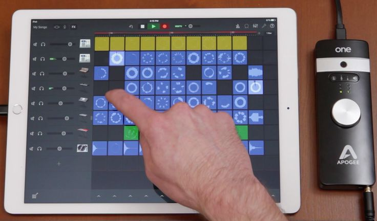 how to make a song on garageband ipad