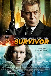 Survivor (2015) - Action, Crime, Thriller - A Foreign Service Officer in London tries to prevent a terrorist attack set to hit New York, but is forced to go on the run when she is framed for crimes she did not commit.