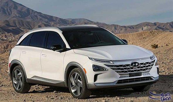 هونداي تعرض السيارة نيكسو بالقيادة الذاتية العام المقبل جربت شركة هيونداي الكورية الجنوبية سيارتها الهيدروجين Fuel Cell Electric Vehicle Hydrogen Car Hyundai