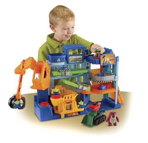 Disney Toys For Boys : Fisher price imaginext disney pixar toy story tri