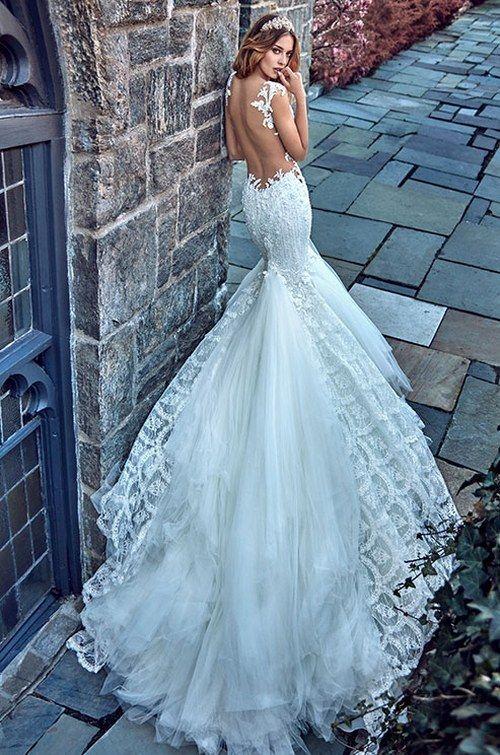 Galia Lahav Le Secret Royal Wedding Dresses 2017 10c_detail / http://www.deerpearlflowers.com/galia-lahav-2017-wedding-dresses-le-secret-royal/