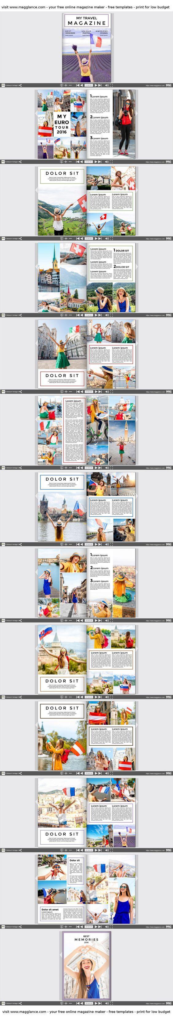 Crea gratis tu álbum de fotos online e imprímelo a buen precio en https://es.magglance.com/album-fotos/crear-album-fotos #ÁlbumFotos #Plantilla #Diseño #Modelo #Ejemplo #Template #Elaborar #Crear #Layout #RevistaFotos #Idea