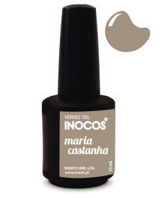 Verniz de Luxo - Inocos Verniz Gel 15ml Maria Morango (Pónei Felpudo)
