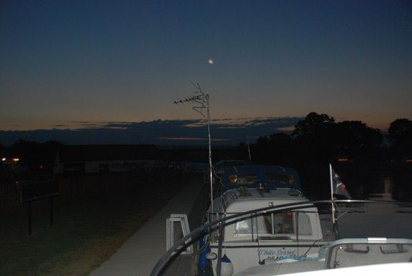 Night time on the Broads