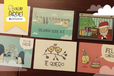 New postcards by Oh my Birdie!