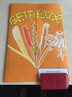 Arnienotizblog: Lapbookbeispiel Getreide