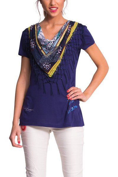 Have you seen our new T-shirts with built-in pashminas