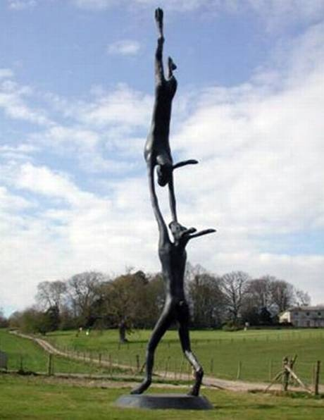 Barry Flanagan: Sculptor known for his distinctive giant bronzes