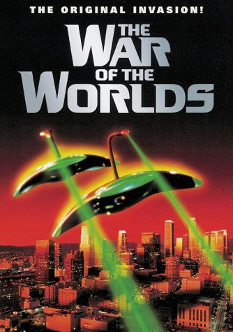 """Movie poster """"War of the Worlds"""" ..... I liked both Versions but the later on with Tom Cruise was best."""