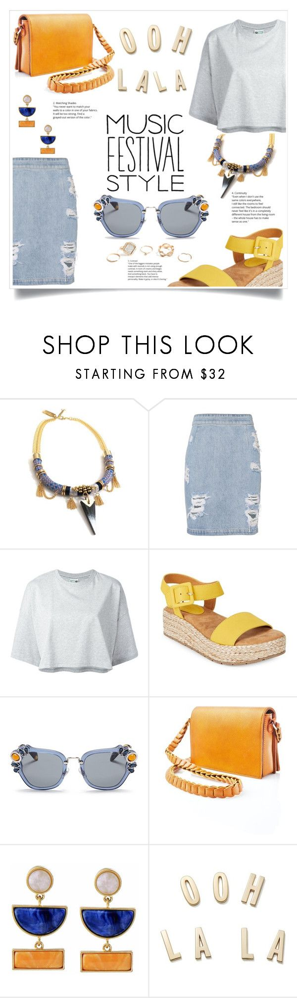 """""""Untitled #139"""" by ellaa-h ❤ liked on Polyvore featuring Celine H2o, IRO, Puma, Kenneth Cole Reaction, Miu Miu, Street Level, Kakao By K, Kate Spade and GUESS"""