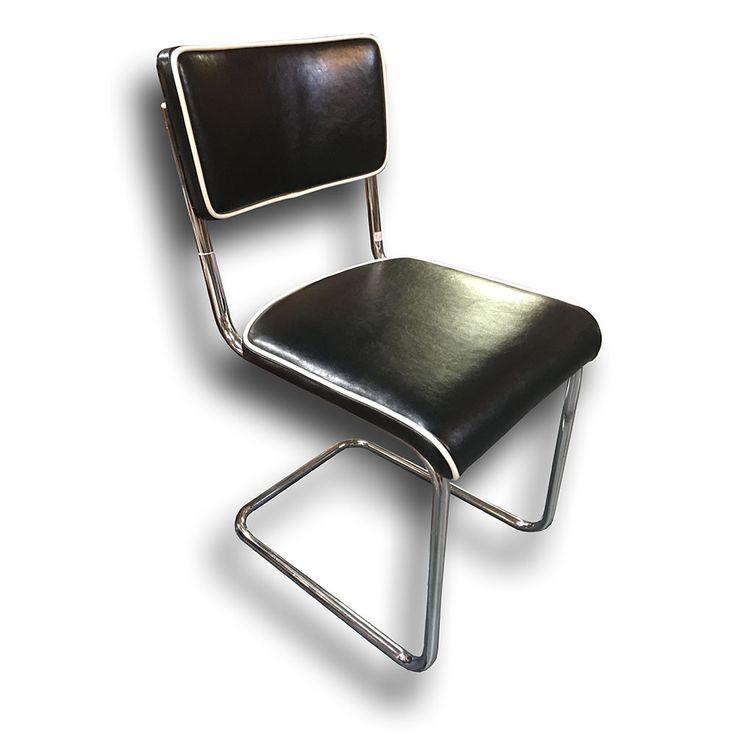 chromovaná židle - Funkcionalismus, 30.léta 20.století, Moderna.      Nový Antik Bazar - Starožitnosti | Kategorie produktu Nábytek