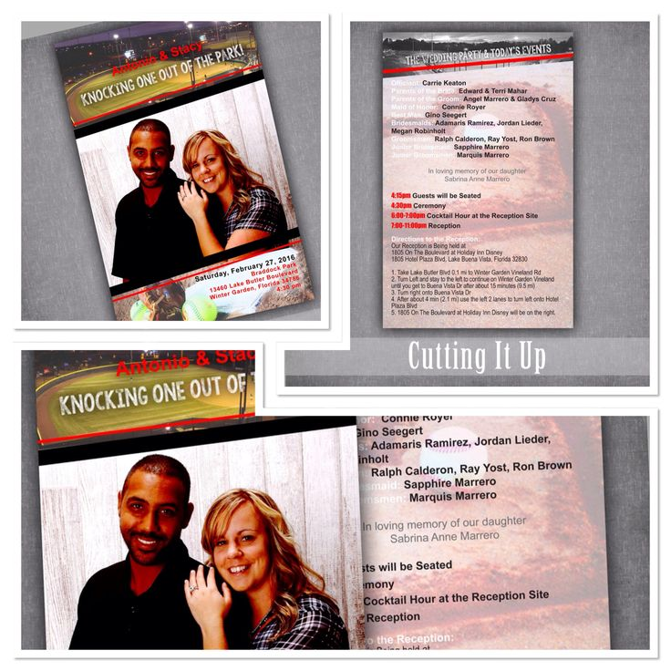 Are you having a Sports Wedding?  Check out these Sports Themed Wedding Programs, Fun Wedding Programs, Baseball Wedding, Softball Wedding Program, Sports Wedding Program, Magazine Wedding Program by CuttingItUp.etsy.com