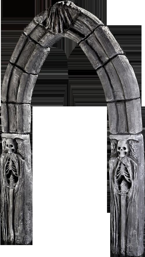 gothic archway prop cemetery halloween - Cemetery Halloween Decorations
