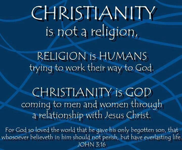 relationship of christianity and faith