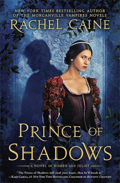 Prince of Shadows by Rachel Caine book cover art!