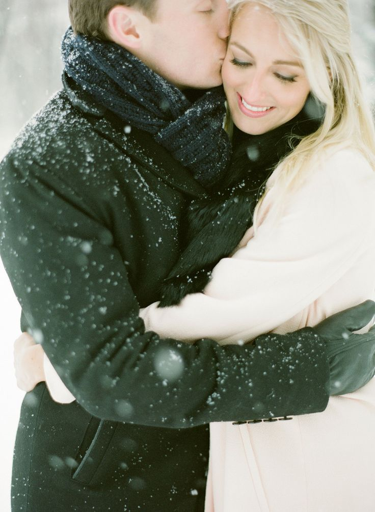 Snowy Engagement Shoot:  On Style Me Pretty: http://www.StyleMePretty.com/2014/03/14/snowy-chicago-engagement-wiup/ KT Merry: Photography