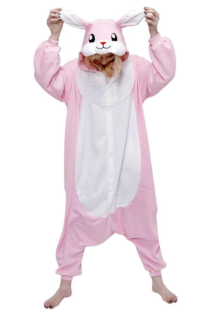 christmas story pink bunny pjs