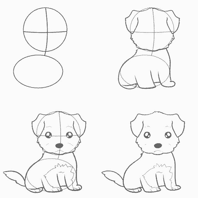 земли картинки собак рисовать легко все-таки подскажите