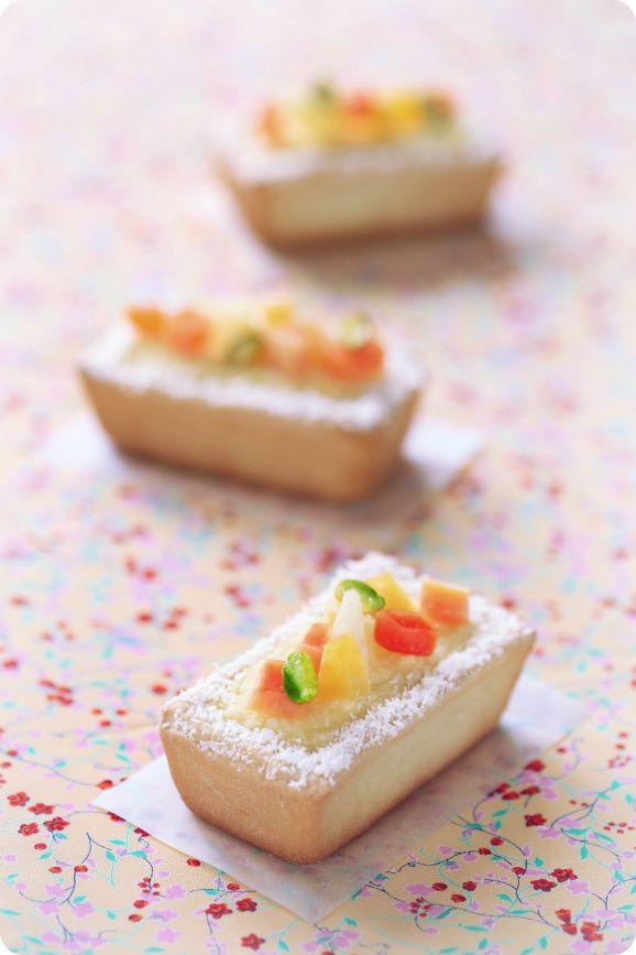 Verdade de sabor: Кокосовые пирожные / Pastéis de coco coconut creamcheese cake