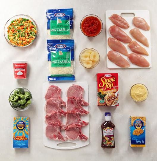 138 best easy on a budget meals images on pinterest cooking food 1 bag 5 meal ideas juggling a busy schedule create five incredible meal forumfinder Choice Image