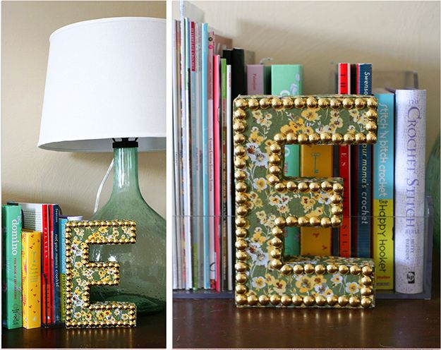 1000+ images about Fabric covered letters on Pinterest