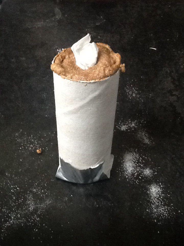 Smoke grenade from 3 parts potassium nitrate (stump remover) and 2 parts sugar.