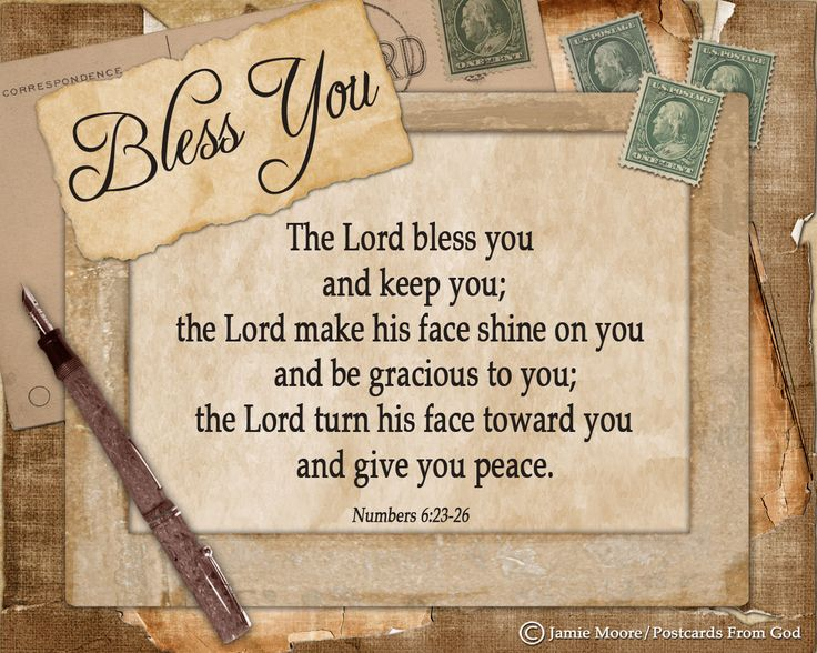 The Lord bless you and keep you! www.facebook.com ...